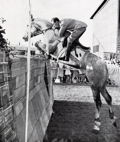 Piero d'Inzeo / Pioneer - Aachen 1961