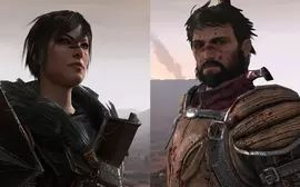 Hawke is the player-controlled protagonist of Dragon Age II. Hawke is fully voiced, can be either male or female and has a fully customizable appearance. Hawke can be a mage, warrior or rogue. The default given name for Hawke is Garrett for a male, and Marian for a female. - Voiced by Jo Wyatt (female) and Nicholas Boulton (male).
