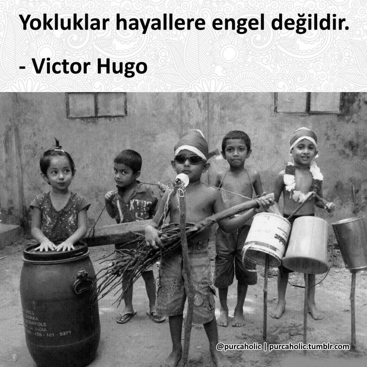 Yokluklar hayallere engel değildir. - Victor Hugo #sözler #anlamlısözler #güzelsözler #manalısözler #özlüsözler #alıntı #alıntılar #alıntıdır #alıntısözler #şiir #edebiyat