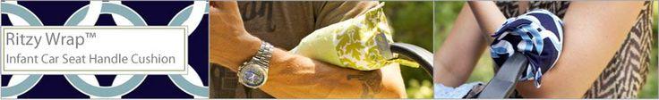 Ritzy Wrap Infant Car Seat Handle Cushion by Itzy Ritzy.