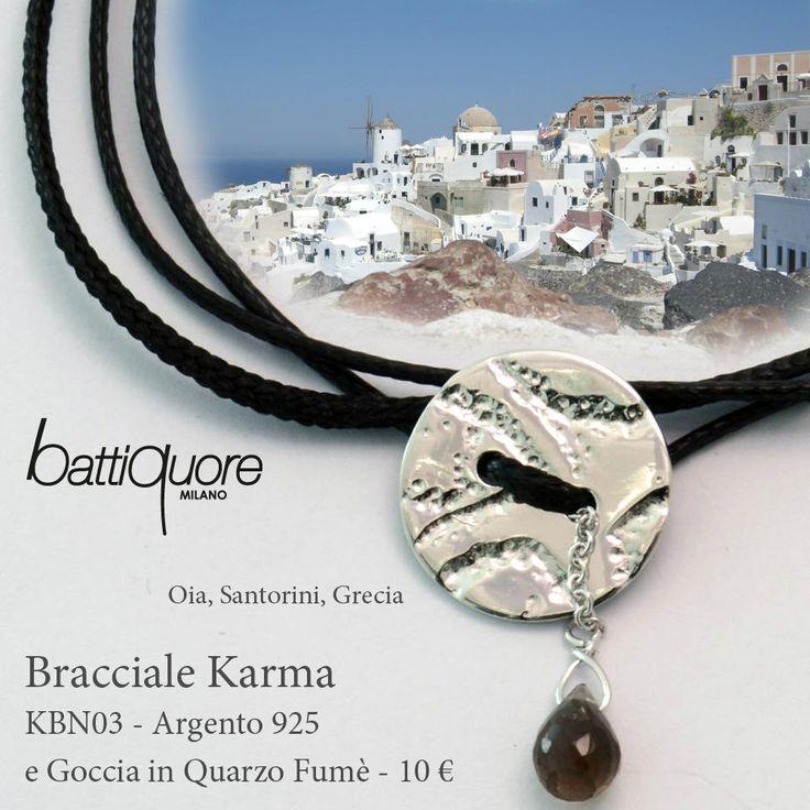 #Cartoline Battiquore, nuovi bracciali Karma #newcolor #black #santorini http://www.battiquore.it/shop/it/karma/130-kbn03.html