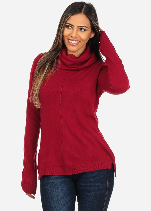 f28f3aa4f85 Stay cozy without losing your sense of fashion with this warm long sleeve  sweater top
