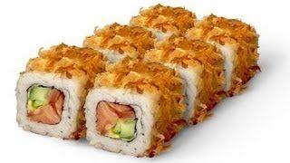 Роллы Бонито. Японская Еда