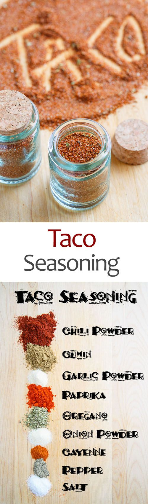 Hannah update: made a nice and spicy taco seasoning. Enough for 1 lb. Of meat.