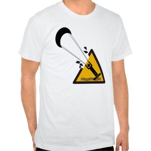 The jump. Kite surfing humour shirt