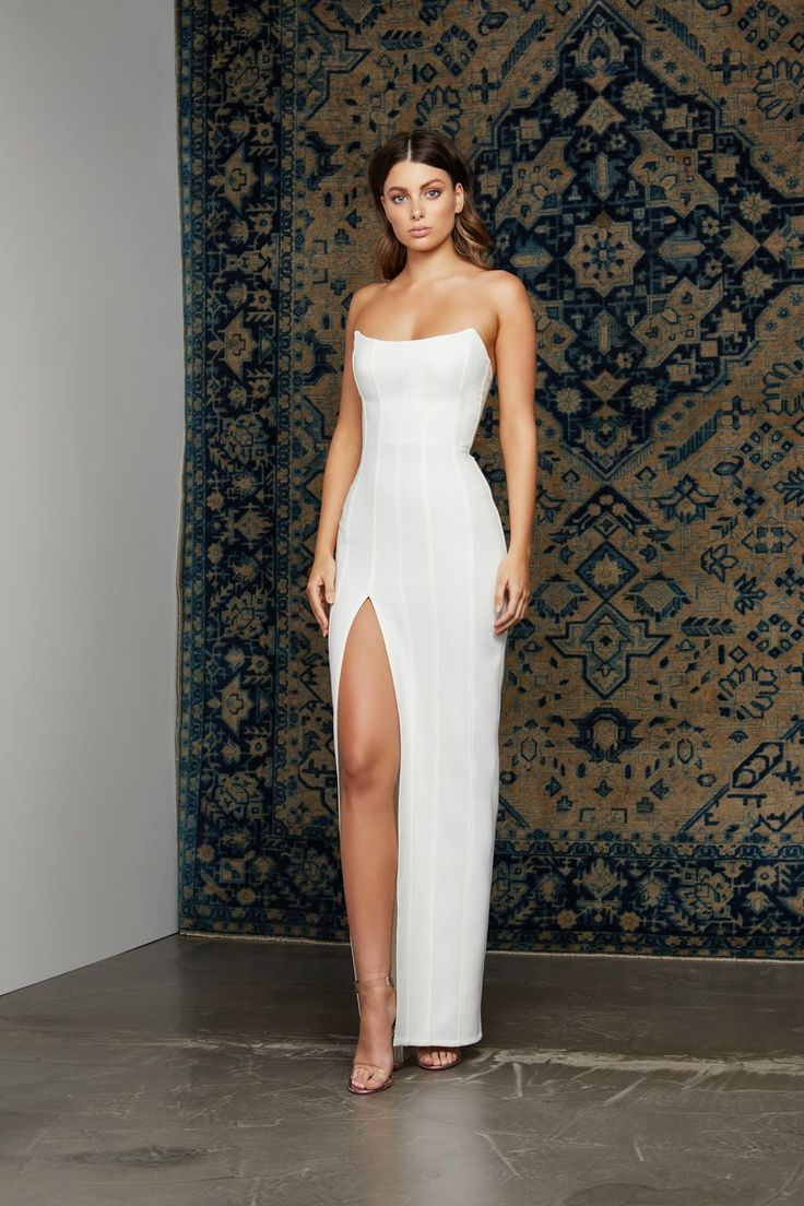 Leyla Dress – White (PRE-ORDER)
