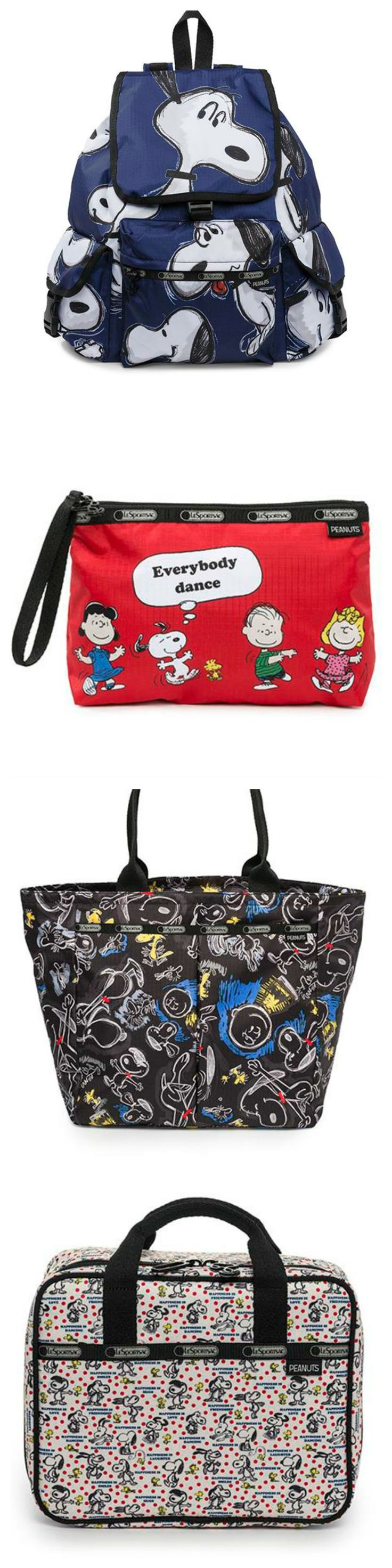 Time for a new Snoopy bag? Read my review of Peanuts LeSportsac Bags and see more styles at CollectPeanuts.com.