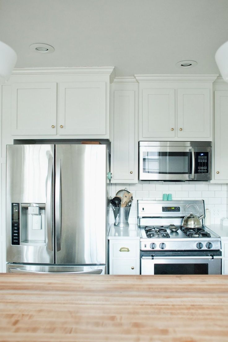 fridge and stove next to each other - Google Search