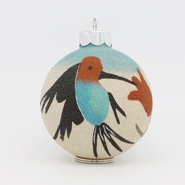13 besten Native American Sand Painted Glass Ornaments Bilder auf ...