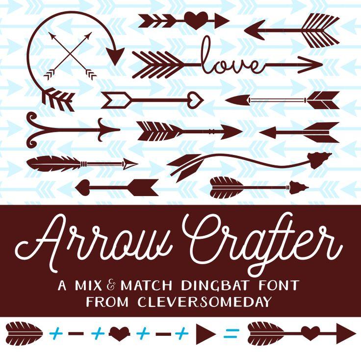 Arrow Crafter Font | dafont.com(already downloaded)