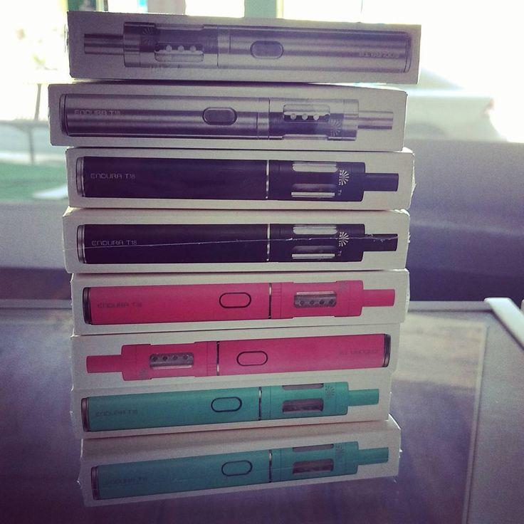 Endura T18 Starter Kit back in stock @vaporaecigs in all 4 Colours! Buy now for only $39.95  #innokin #endurat18 #aussievapers #girlswhovape