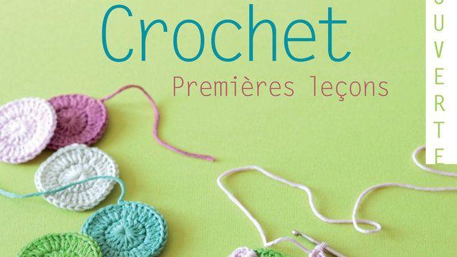 """""""Crochet, premières leçons""""est un livre paru aux Editions Le Temps Apprivoisé."""
