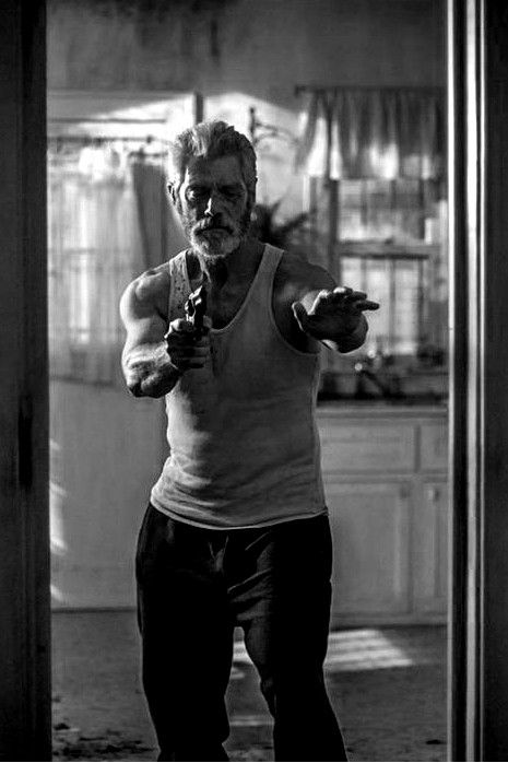 """I wouldn't say he's got a good heart or a bad heart. I'd say he's got a broken heart, in a way. He's a brokenhearted man is what he is. But for all his heartbreak, he's got a steel backbone, too."" Stephen Lang on his character The Blind Man from Don't Breathe (2016) in an interview with Dread Central"