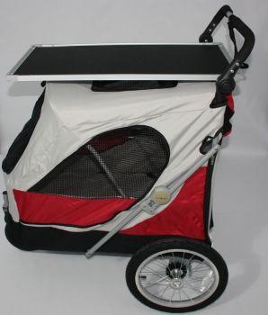 Gabriele Zechel - Hundekörbe, Le - Hundekinderwagen Aventura XL 105 x 70 x 112 cm bis 45 kg mit Trimmplatte