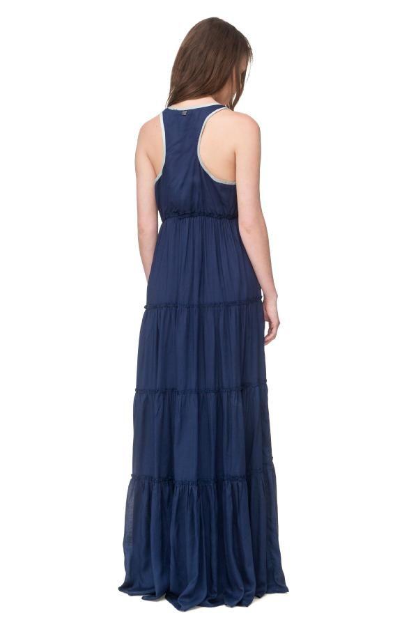 Φόρεμα μάξι με τσιγγάνικα βολάν 2