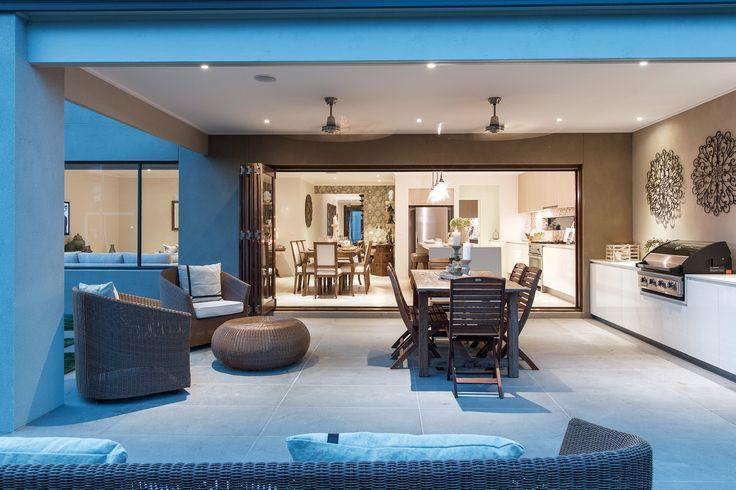 Alfresco as displayed in Marbella 42 at Williams Landing Estate