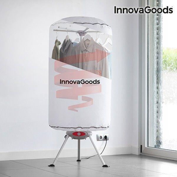 El mejor precio en Hogar 2017 en tu tienda favorita https://www.compraencasa.eu/es/secadoras-planchas-tendederos/90446-secadora-de-ropa-portatil-innovagoods-1000w-blanco.html