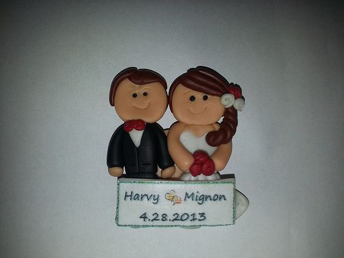 Wedding Souvenir Fridge Magnet