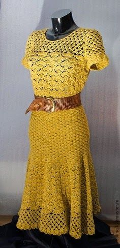 Ivelise Feito à Mão: Tudo Amarelo! Inspirações De Vestidos...