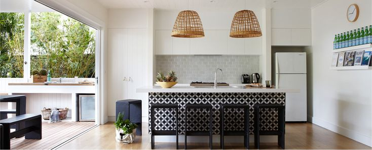 beach house kitchen love -atlantic byron bay