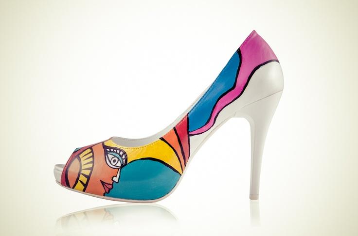 HiHeel.eu - Hand paiented shoes.