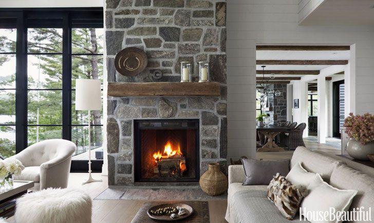 Идеальный домик у озера Онтарио в Канаде | Пуфик - блог о дизайне интерьера
