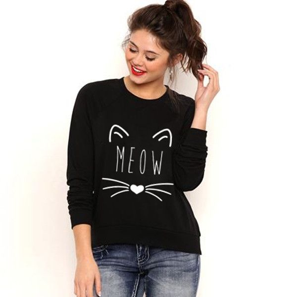 Black Hoodies Women Sweatshirt Tumblr Full Sleeve Survetement Femme Marque 2017 Harajuku Letter Print Sweatshirts Felpe Donna
