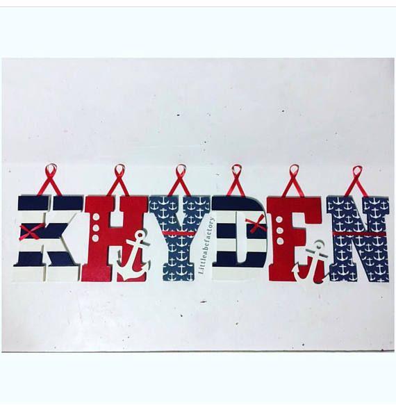 Tema náutico decoración cuarto de niños guardería náutica
