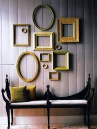 Image result for picture frames on wall