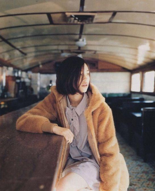 jeou:      Kiko Mizuhara for A.P.C. campaign f/w 2011