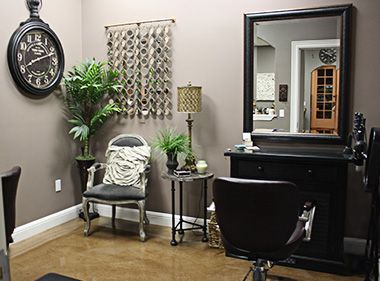 find this pin and more on salon suite decor - Home Salon Furniture
