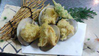 はまぐり天ぷら【はまぐり料理】 千とせ~蛤・魚・おばんざい~