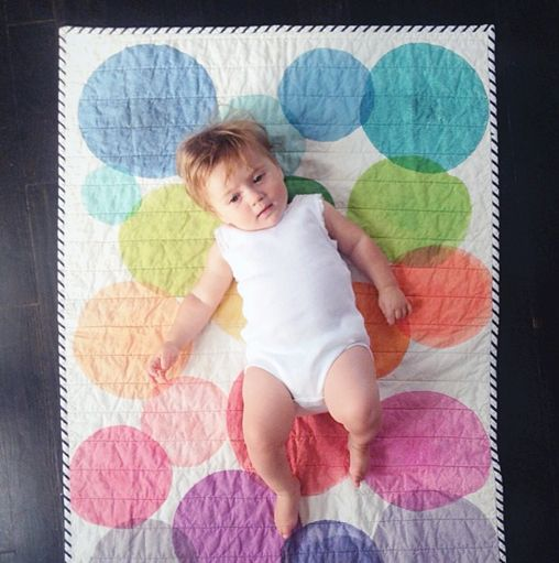 water color quilt by hopewell workshopQuilt Inspiration, Littlest Nurseries, Quilt Ideas, Hopewell Workshop, Hopewellworkshop, Interesting Watercolors, Water Colors, Watercolors Quilt, Baby Quilt