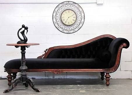 Buy Quality Victorian Style Chaise Lounge With Carved Detailing From  Timeless Interior Designer, Australia. Find A Matching Victorian Style Chaise  Lounge ...