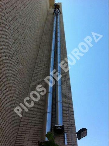 Chimeneas Picos de Europa: Instalador de conductos Madrid, tubos de chimeneas...