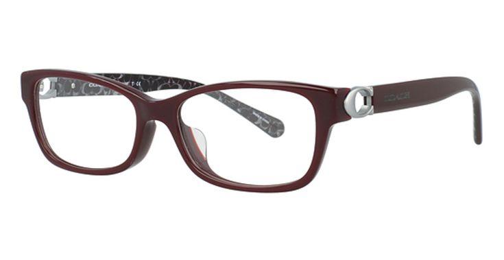 Buy cheap hc 6119f asian fit eyeglasses oxblood