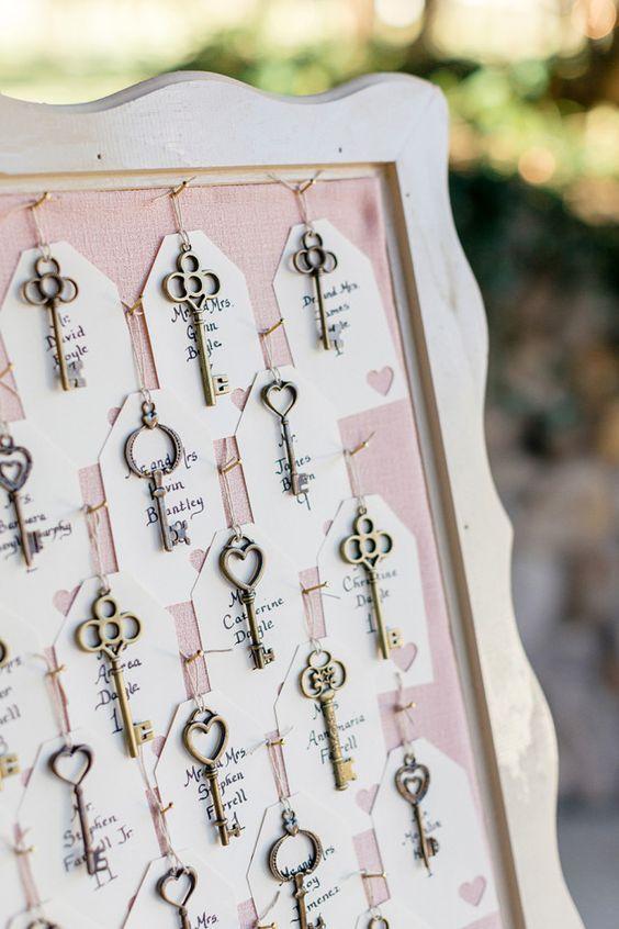 Ключик может стать интересным элементом свадьбы. Как? Читайте на нашем сайте!