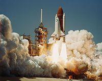 April 4, 1983 the first flight of the Space Shuttle Challenger (NASA Orbiter Vehicle Designation: OV-099).