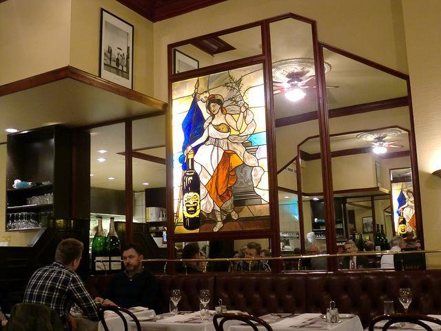 Neste Oslo-tur. Brasserie France - Et dryss kanel