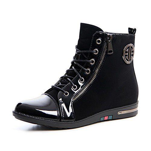 topschuhe24 667 Damen Keilabsatz Stiefeletten Sneaker Boots - http://on-line-kaufen.de/topschuhe24/topschuhe24-667-damen-keilabsatz-stiefeletten