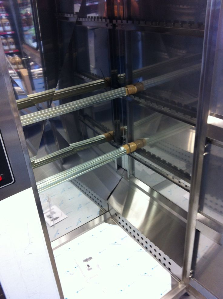 Inside the IDC-120 Industrial Biltong Drying Cabinet