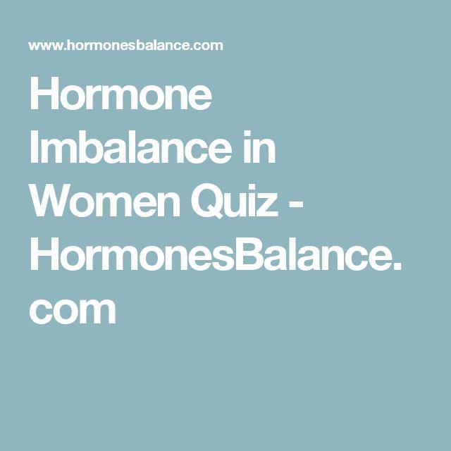 Hormone Imbalance in Women Quiz - HormonesBalance.com