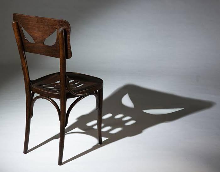 Perfect Designer Yaara Dekelu0027s U0027Coppelius Chairu0027 Reveals A Spooky Shadow Face Amazing Pictures