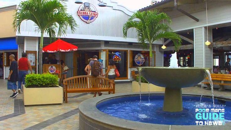 """ALA MOANA SHOPPING CENTER HD """"Waydes World Hawaii"""""""