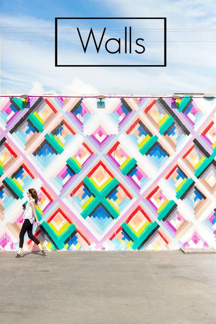Las paredes mas fotografiadas en Instagram | La Bici Azul: Blog de decoración, tendencias, DIY, recetas y arte