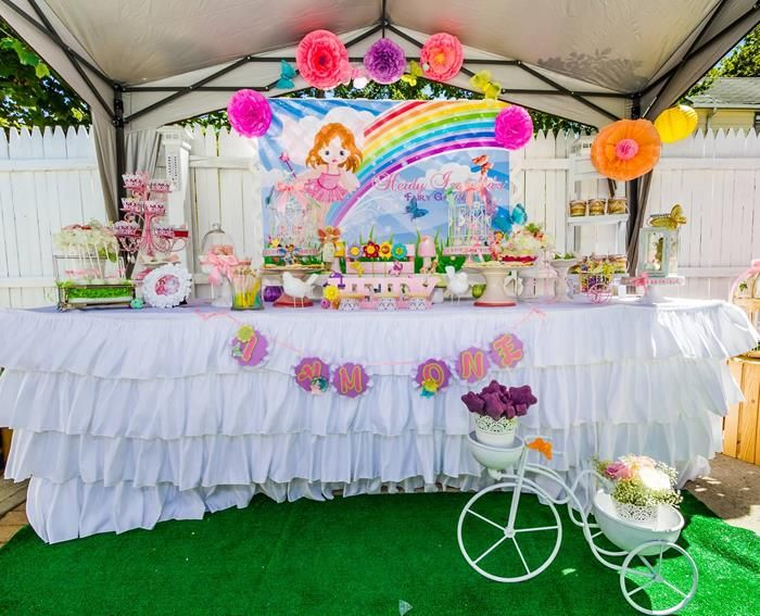 Magical Fairy Garden Party Planning Ideas Supplies Idea Cake Fairies