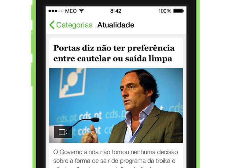 SAPO Jornais - News List by Hugo França