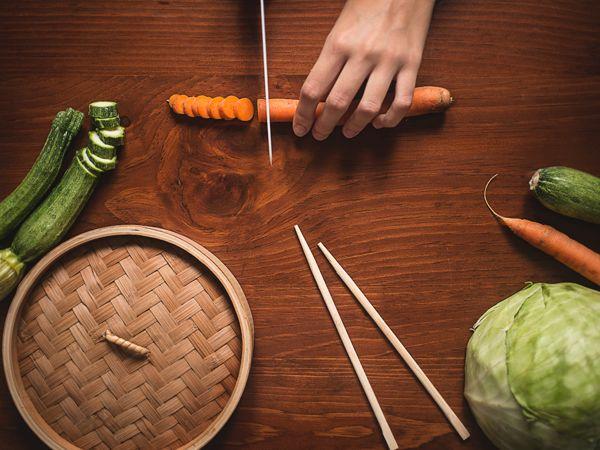 Silvia Clo Di Gregorio - Vietnamese Rolls Ingredients for Cosebelle Magazine http://www.cosebellemagazine.it/2014/11/03/involtini-vietnamiti/