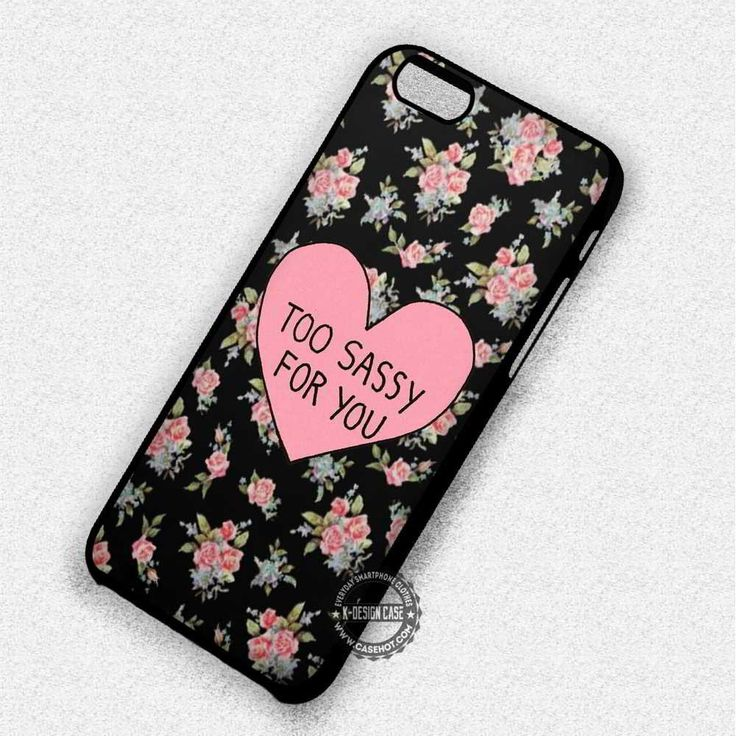 On Floral Pattern - iPhone 7 Plus 6 5 4 Cases & Covers