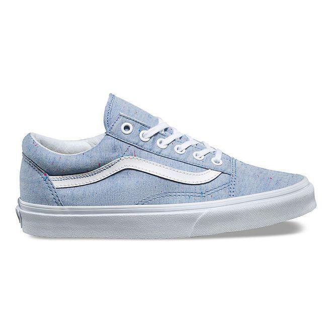 vans femme old skool bleu